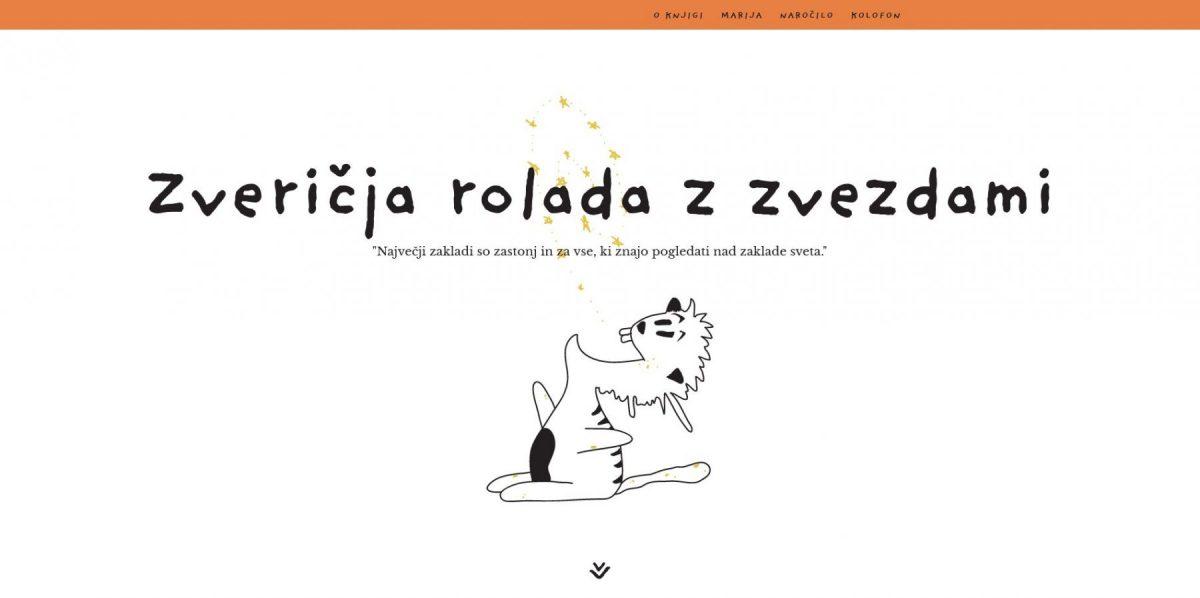 Marija Jeglič - zveričja rolada z zvezdami